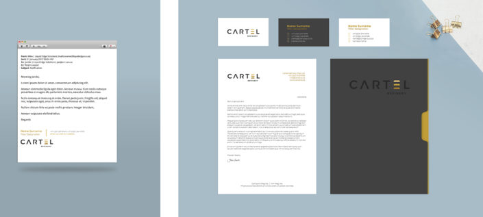 Cartel Branding Mock-up