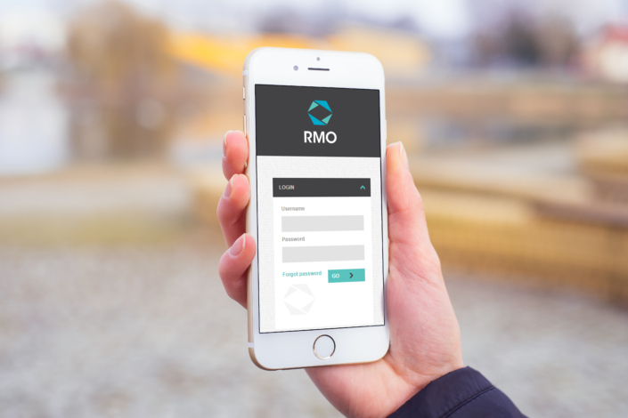 RMO Homepage Login Mobile