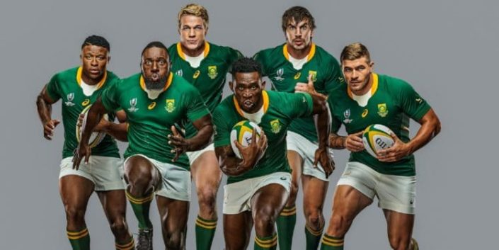 New Springbok kit for the Rugby World Cup. Photo: @Springboks / Twitter