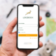 Springbok App Login Screen